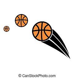 バスケットボール, ベクトル
