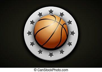 バスケットボール, 優れた, ラベル