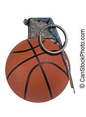バスケットボール, 手榴弾