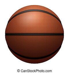 バスケットボール, 現実的, 隔離された, ボール