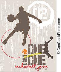 バスケットボール, 1(人・つ)