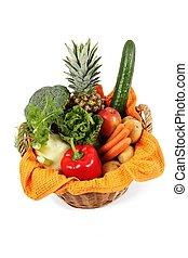 バスケット, 野菜