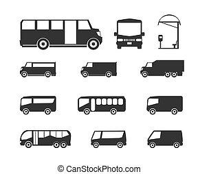 バス, アイコン