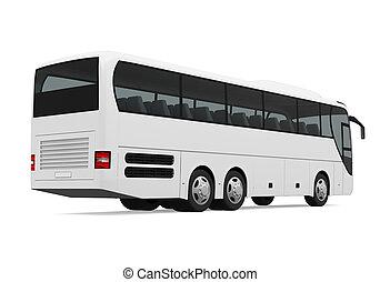 バス, コーチ, 隔離された