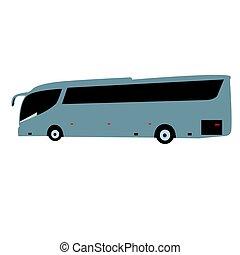 バス, サイド光景