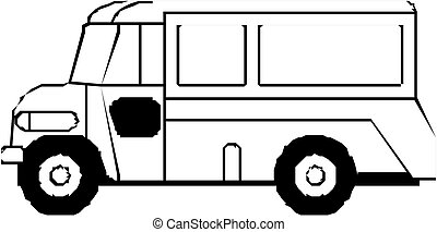 バス, バン