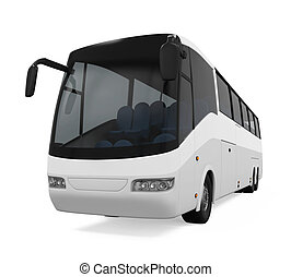 バス, 白, 旅行