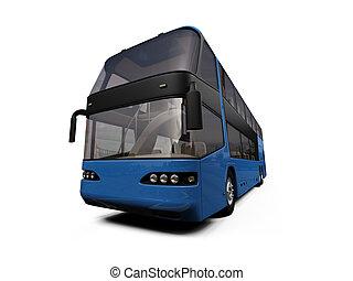 バス, 隔離された, 光景