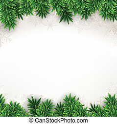 バックグラウンド。, クリスマス, モミ
