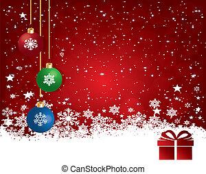 バックグラウンド。, クリスマス, 抽象的
