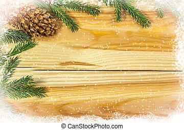 バックグラウンド。, コピー, クリスマス, スペース