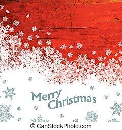 バックグラウンド。, ベクトル, クリスマス, 陽気