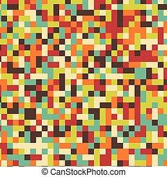 バックグラウンド。, 多色刷り, ベクトル, 広場, モザイク