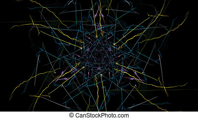 バックグラウンド。, 抽象的, カラフルである, 未来派