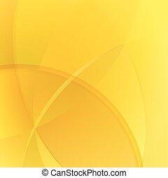 バックグラウンド。, 抽象的, ベクトル, 有色人種, 黄色
