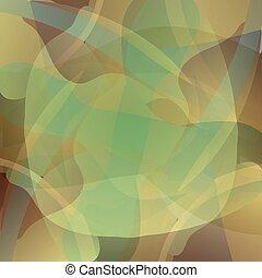 バックグラウンド。, 抽象的, ベクトル, 緑