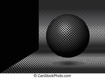 バックグラウンド。, 抽象的, ボール