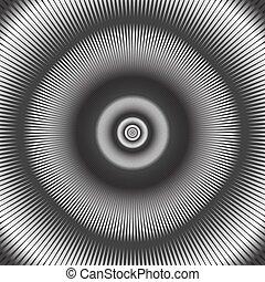 バックグラウンド。, 抽象的, 円