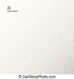 バックグラウンド。, 抽象的, 広場, seamless, パターン