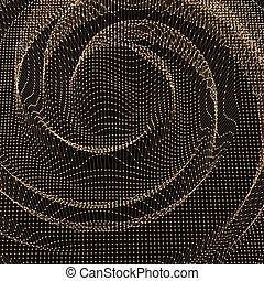 バックグラウンド。, 抽象的, 格子, surface., チョコレート