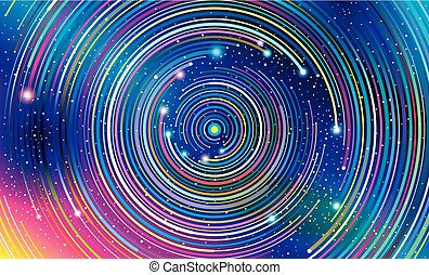 バックグラウンド。, 抽象的, 銀河