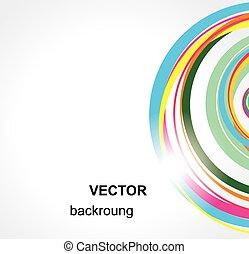 バックグラウンド。, 抽象的, vector.