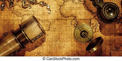 バックグラウンド。, 旅行, 概念, ナビゲーション, 地理