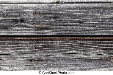 バックグラウンド。, 木, 古い, 板