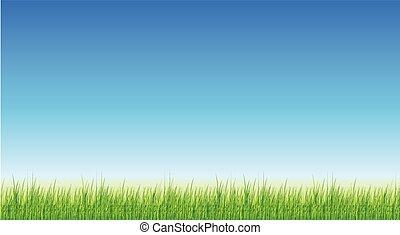 バックグラウンド。, 草, 緑