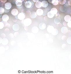 バックグラウンド。, 銀, クリスマス