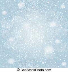 バックグラウンド。, 雪片, seamless