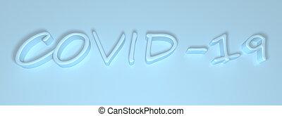 バックグラウンド。, 青, 碑文, ライト, 3次元である