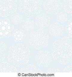 バックグラウンド。, seamless, 雪片