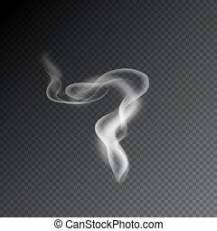 バックグラウンド。, vectors, 透明, 煙