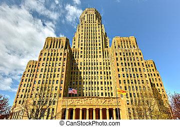 バッファロー, 市役所, -, ニューヨーク