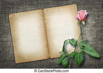 バラ, お祝い, ∥あるいは∥, カード, 招待
