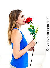 バラ, 女性の保有物, 赤