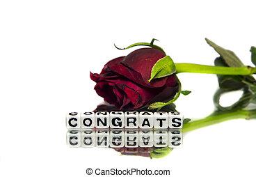 バラ, congrats