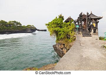 バリ, 寺院, インドネシア, 海