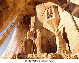 バルセロナ, 彫刻, 教会