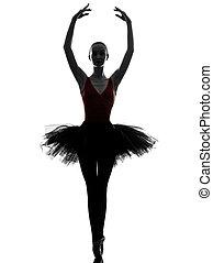 バレリーナ, バレエ, 女性のダンス, 若い, ダンサー