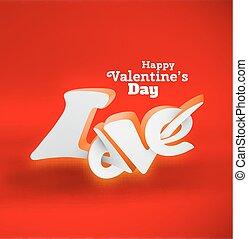 バレンタインデー, カード, 幸せ