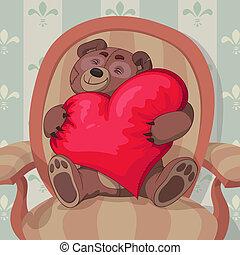バレンタインデー, テディ