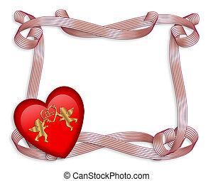 バレンタインデー, 心, ボーダー
