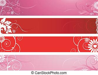 バレンタインデー, 旗