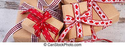 バレンタイン, ∥あるいは∥, 贈り物, リサイクルされる, ペーパー, 包まれた, 他, 祝福