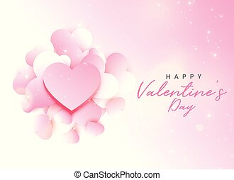 バレンタイン, デザイン, 背景, ピンク, 日, 柔らかい