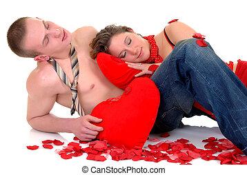 バレンタイン, 愛, ヤングアダルト