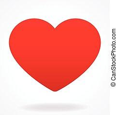 バレンタイン, 愛 中心, ベクトル
