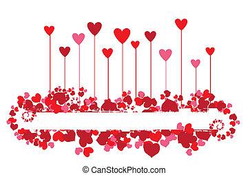 バレンタイン, 背景, ∥ために∥, あなたの, desig